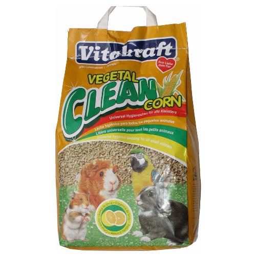 Vitakraft Vegetal Clean Corn leito de milho para animais de estimação