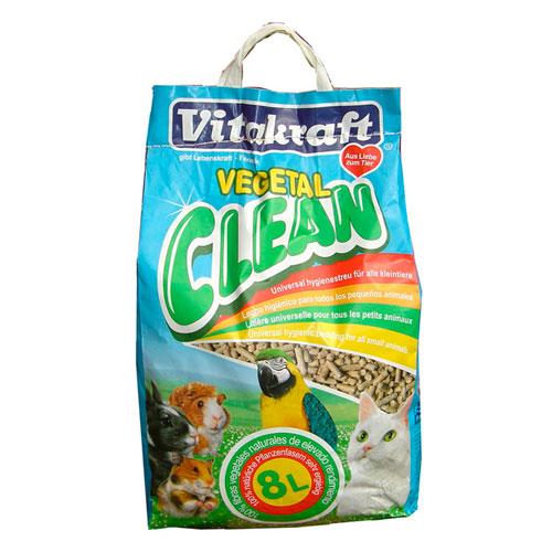 Vitakraft Vegetal Clean leito higiênico para animais de estimação