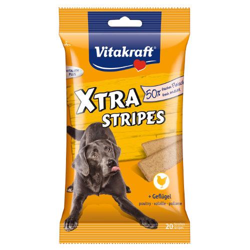 Vitakraft Xtra Stripes snacks para cães em tiras de frango