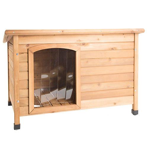 Casota de madeira para cães TK-Pet Country