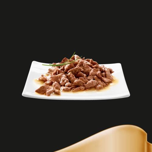 Alimento húmido para gatos Sheba carne em molho