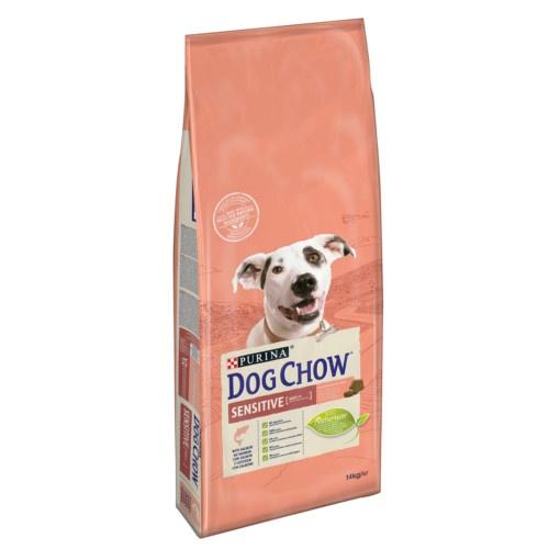 Ração para cães Dog Chow Sensitive com salmão