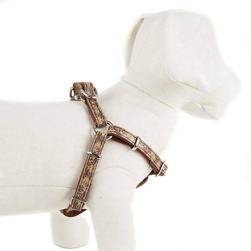 Arnês para cães Envy Flora Cor Castanho