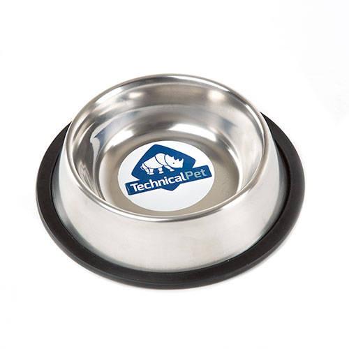 Comedero para cães TK-Pet aço inoxidável antiderrapante