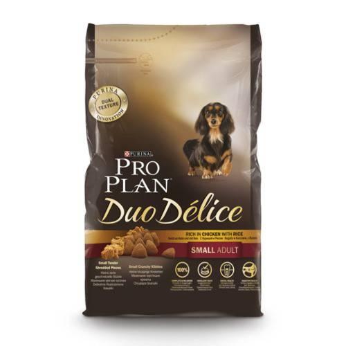 Purina Pro Plan Duo Délice Small Adult Frango ração para cães de raça pequena
