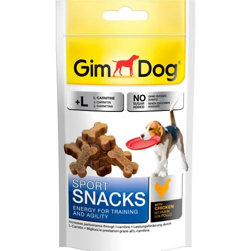Snacks para cães GimDog Sport Snacks mini ossos de frango