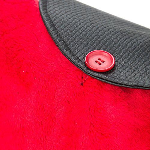 Mochila para transporte de cães e gatos Fashion Dog vermelha escarlate