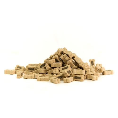 Snacks para cães Criadores Mini Ossos Duo com cordeiro e arroz