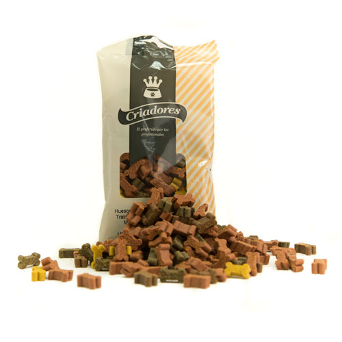 Snacks para cães Criadores Mini Ossos Trainer Mix