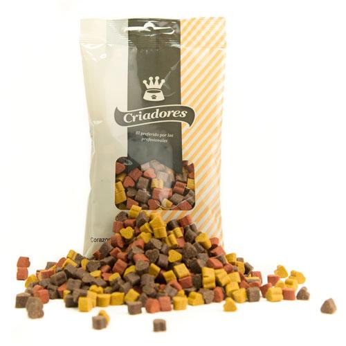Snacks para cães Criadores sortido de Mini corações