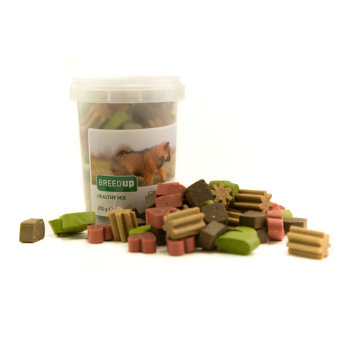 Snacks para cães Breed Up Healthy Mix