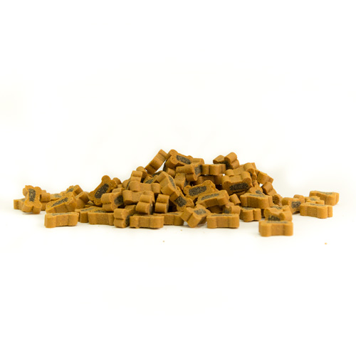 Snacks para cães Criadores Mini Ossos Duo com carne