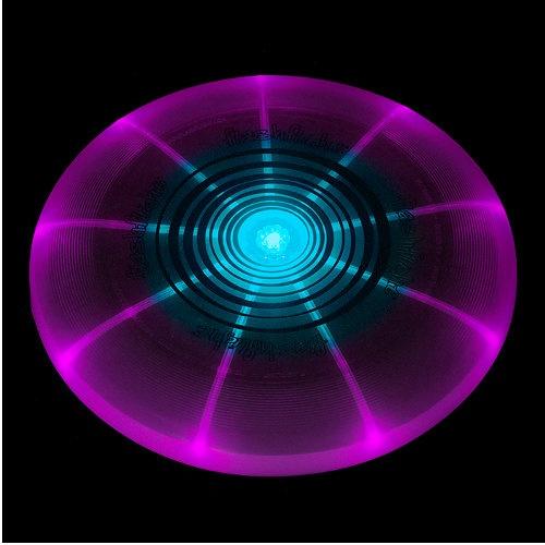 Disco voador para cães LED FlashLight