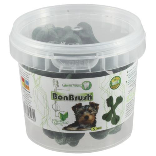 Snack dental para cães BonBrush com clorofila e salva