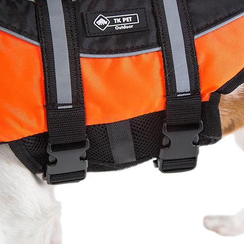 Colete salva-vidas para cães TK-Pet Pirineos