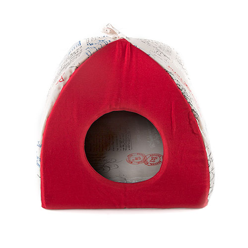 Cama para gatos TK-Pet Post tipo iglu