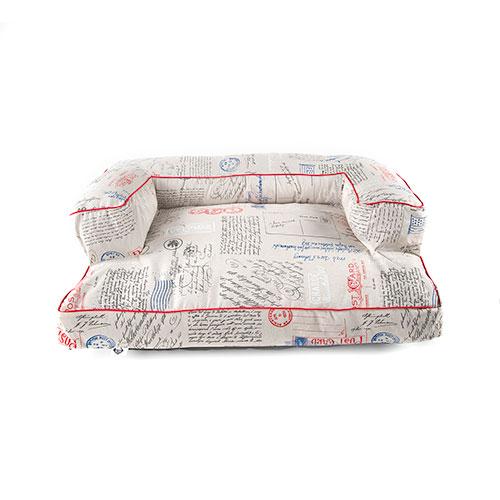 Cama para cães TK-Pet Post tipo sofá