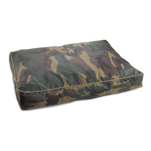 Funda de colchonete cama para cães TK-Pet Safari camuflado