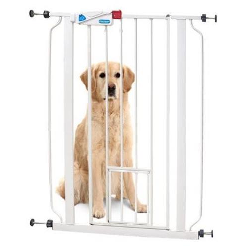 Barreira para cães com porta gateira