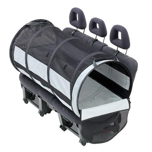 Caixa de transporte dobrável para o banco do carro Pet Tube