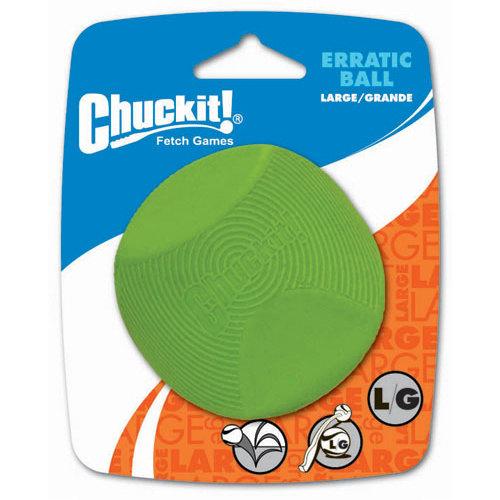 Bola de borracha natural para cães Chuckit! Erratic