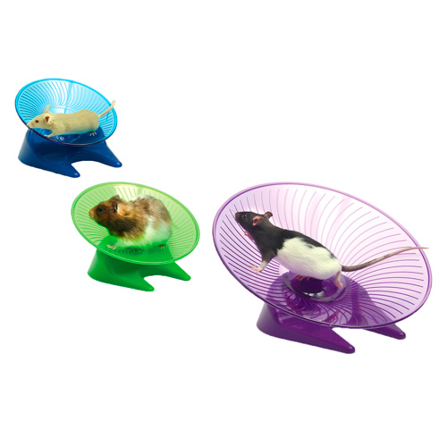 Disco voador de exercício para roedores