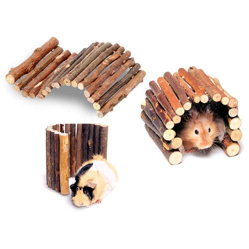 Ponte de madeira para roedores