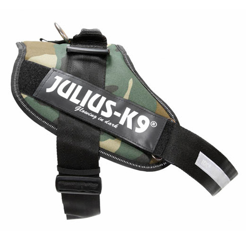 Arnês ergonómico Julius K9 IDC camuflagem