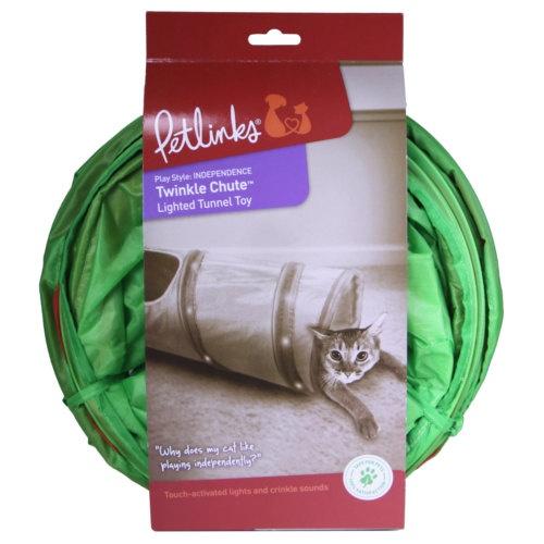 Túnel com luzes para gatos Twinkle Chute