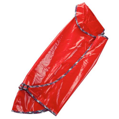 Impermeável vermelho para galgos