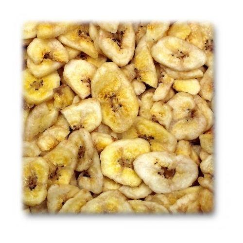 Snack de banana para roedores e coelhos JR Farm