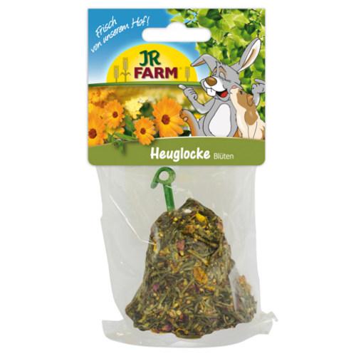 Snack sino de feno com flores JR Farm para roedores e coelhos