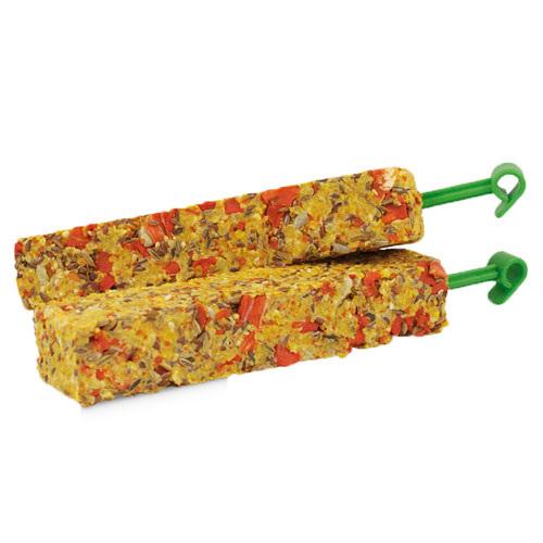 Snack barritas com cenoura e funcho JR Farm Farmys para roedores e coelhos