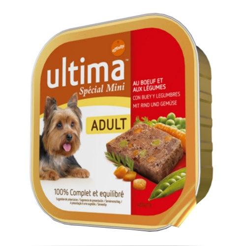 Affinity Ultima Adult Spécial Mini comida húmida com carne de vaca