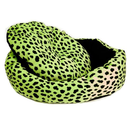 Cama para gatos TK-Pet Animal Print verde