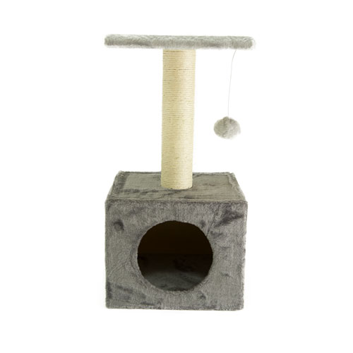 Arranhador para gatos TK-Pet Ara cinza