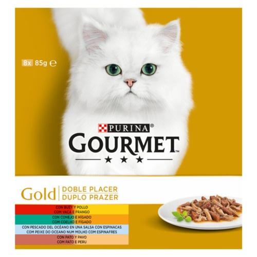 Pack Gourmet Gold Prazer Duplo sortido