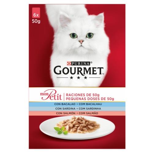Gourmet Mon Petit multipack seleção de peixes para gatos