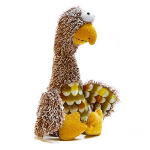 Brinquedo aguieta castanha de peluche TK-Pet Paul