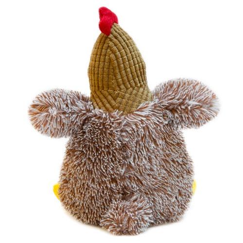 Brinquedo galinha castanha de peluche TK-Pet Janis