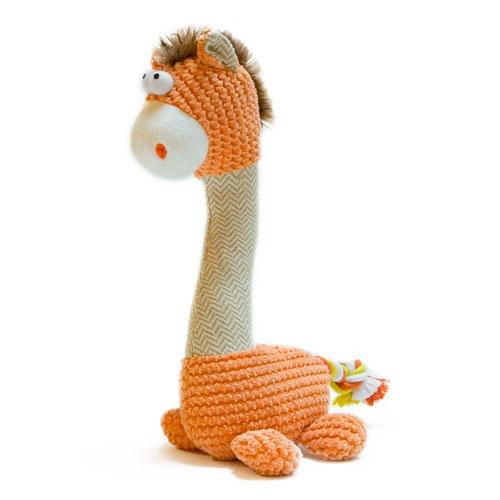 Brinquedo girafa de peluche TK-Pet Alice