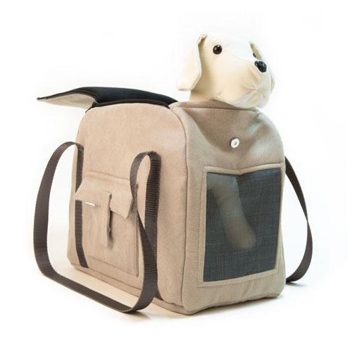 Bolso de transporte para animais de estimação Wondermals Louis caqui