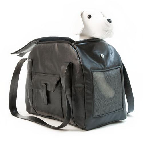 Bolso de transporte para animais de estimação Wondermals Nina preto