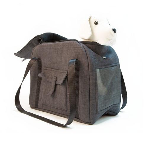 Bolso de transporte para animais de estimação Wondermals Billie preto