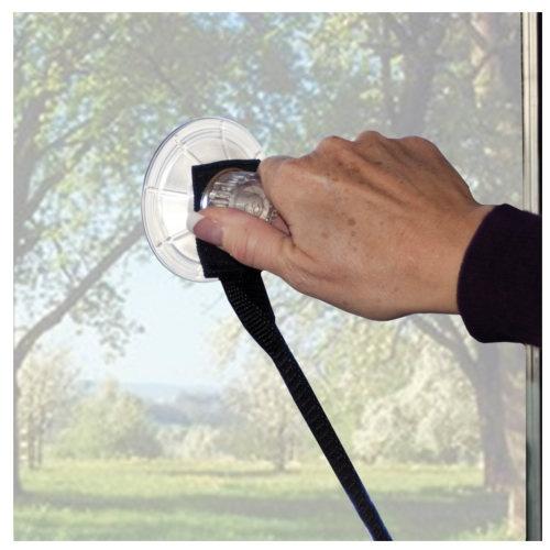 Cama dupla com ventosas para a janela