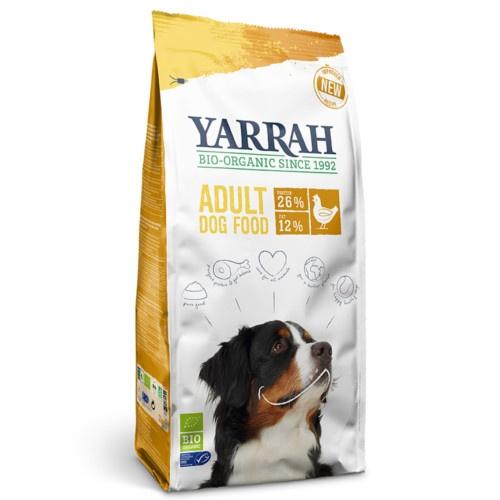 Ração ecológica Yarrah com frango para cães