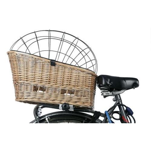 Cesto de vime para bicicletas