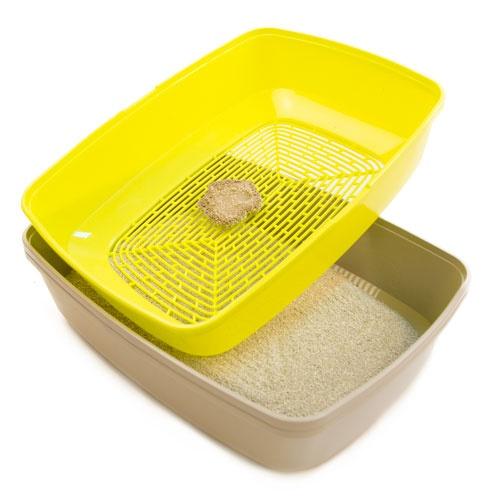 Bandeja sanitária de limpeza rápida TK-Pet Milo