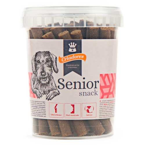 Snack Criadores Sénior para cães idosos