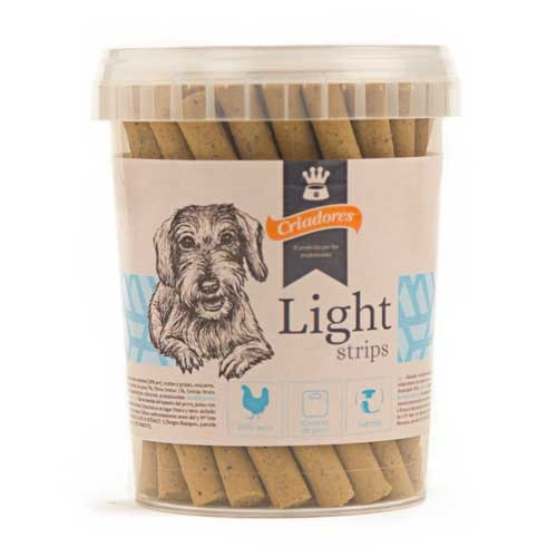 Snack Criadores Light strips para cães